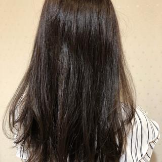 ブラウンベージュ オフィス 簡単 デート ヘアスタイルや髪型の写真・画像