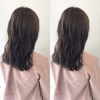 デート ナチュラル 簡単ヘアアレンジ オフィス ヘアスタイルや髪型の写真・画像