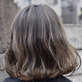 アッシュ 外国人風カラー グレージュ 外国人風 ヘアスタイルや髪型の写真・画像