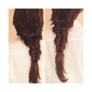フェミニン コンサバ ストリート モテ髪 ヘアスタイルや髪型の写真・画像
