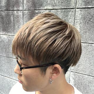 刈り上げ メンズ アッシュ モード ヘアスタイルや髪型の写真・画像