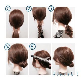 フェミニン 簡単ヘアアレンジ ショート 色気 ヘアスタイルや髪型の写真・画像 ヘアスタイルや髪型の写真・画像