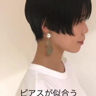 似合わせ かっこいい ショート ラフ ヘアスタイルや髪型の写真・画像