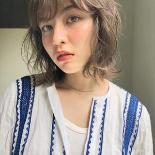 ヘアアレンジ ガーリー 大人かわいい ミディアム ヘアスタイルや髪型の写真・画像