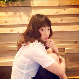 フェミニン ゆるふわ ガーリー 春 ヘアスタイルや髪型の写真・画像