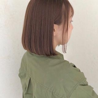 ミニボブ 大人かわいい ショートボブ オフィス ヘアスタイルや髪型の写真・画像