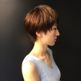 アッシュ ナチュラル アウトドア マッシュ ヘアスタイルや髪型の写真・画像