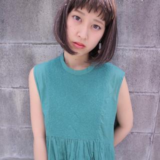 小顔 外国人風 大人女子 ニュアンス ヘアスタイルや髪型の写真・画像