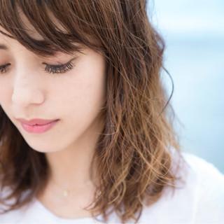 アッシュ フェミニン 大人かわいい パーマ ヘアスタイルや髪型の写真・画像