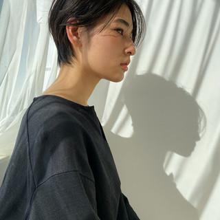 ショートヘア ショート 大人ショート マッシュショート ヘアスタイルや髪型の写真・画像