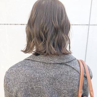 デート 簡単ヘアアレンジ 切りっぱなし アンニュイほつれヘア ヘアスタイルや髪型の写真・画像