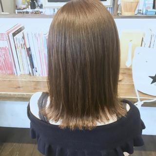 夏 デート ガーリー 外ハネ ヘアスタイルや髪型の写真・画像