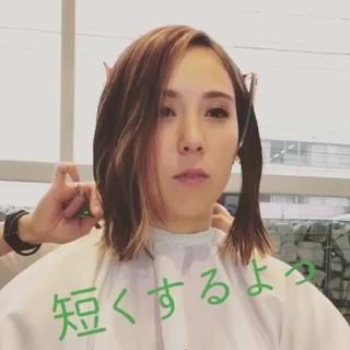 舘山 慎也さんのヘアスナップ