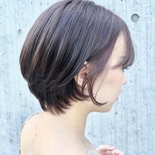 ヘアアレンジ デート アウトドア ショート ヘアスタイルや髪型の写真・画像