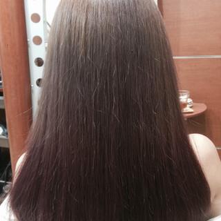 グラデーションカラー 暗髪 アッシュ 外国人風 ヘアスタイルや髪型の写真・画像