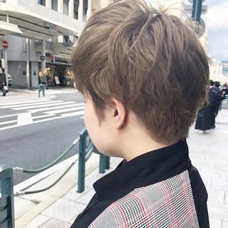 ベリーショート ショート ブリーチ 小顔ショート ヘアスタイルや髪型の写真・画像 ヘアスタイルや髪型の写真・画像