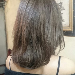 グラデーションカラー ハイライト 外国人風 ブラウン ヘアスタイルや髪型の写真・画像