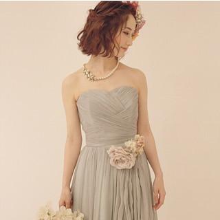 結婚式 ガーリー ボブ 大人かわいい ヘアスタイルや髪型の写真・画像