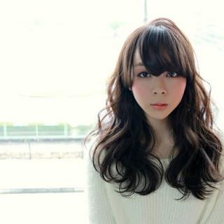 ゆるふわ 外国人風 大人かわいい セミロング ヘアスタイルや髪型の写真・画像
