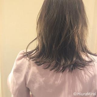涼しげ ヘアアレンジ 外ハネ 色気 ヘアスタイルや髪型の写真・画像