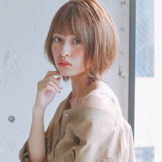 ナチュラル モテ髪 アンニュイほつれヘア ワンカール ヘアスタイルや髪型の写真・画像