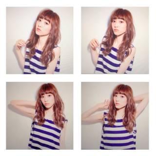 ウェーブ ストリート パンク 春 ヘアスタイルや髪型の写真・画像