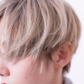 外国人風 ショート 大人かわいい ナチュラル ヘアスタイルや髪型の写真・画像
