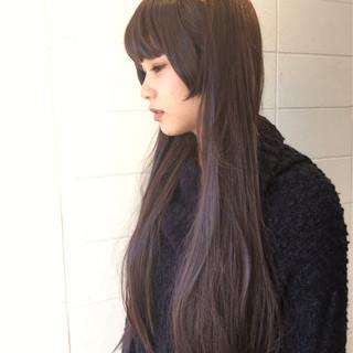 透明感 上品 姫カット ロング ヘアスタイルや髪型の写真・画像 ヘアスタイルや髪型の写真・画像