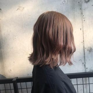 ボブ アウトドア ストリート モテボブ ヘアスタイルや髪型の写真・画像