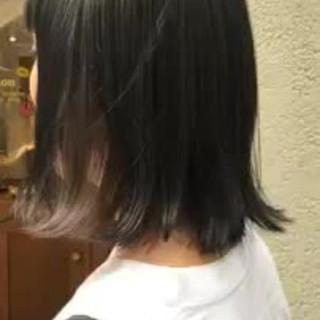 色気 ボブ ナチュラル オフィス ヘアスタイルや髪型の写真・画像