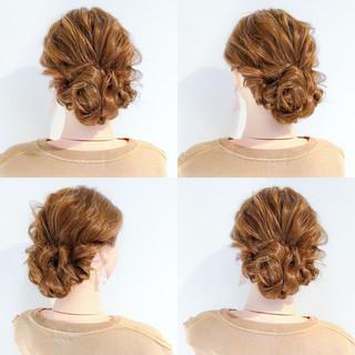 上品 結婚式 涼しげ エレガント ヘアスタイルや髪型の写真・画像
