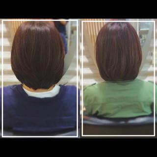 社会人の味方 髪質改善 ナチュラル 髪質改善トリートメント ヘアスタイルや髪型の写真・画像