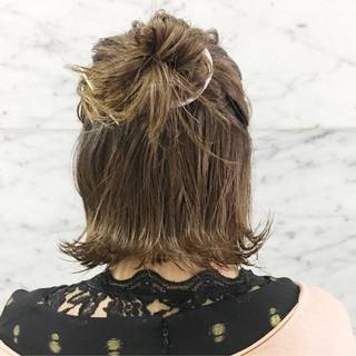 ヘアアレンジ アウトドア お団子 スポーツ ヘアスタイルや髪型の写真・画像 ヘアスタイルや髪型の写真・画像