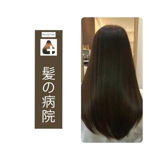 ナチュラル 髪の病院 美髪 トリートメント ヘアスタイルや髪型の写真・画像