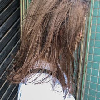 ヘアアレンジ 簡単ヘアアレンジ セミロング ナチュラル ヘアスタイルや髪型の写真・画像