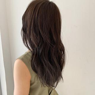 大人女子 オシャレ 大人ヘアスタイル セミロング ヘアスタイルや髪型の写真・画像