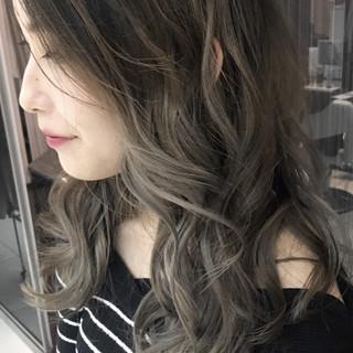 透明感 セクシー ロング 秋 ヘアスタイルや髪型の写真・画像