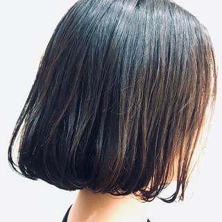 ミニボブ 大人ショート ミディアム モテボブ ヘアスタイルや髪型の写真・画像