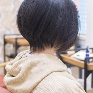 ショートヘア ショートボブ ミニボブ ボブ ヘアスタイルや髪型の写真・画像