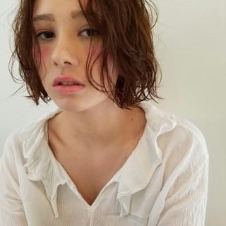 色気 小顔 ストリート 外国人風 ヘアスタイルや髪型の写真・画像
