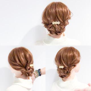 結婚式 アップスタイル デート ヘアアレンジ ヘアスタイルや髪型の写真・画像 ヘアスタイルや髪型の写真・画像