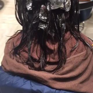 パーマ ミディアム 大人かわいい ふわふわ ヘアスタイルや髪型の写真・画像