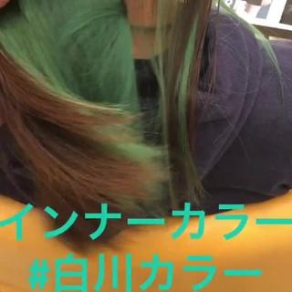 ヘアアレンジ ロング カラーバター 女子力 ヘアスタイルや髪型の写真・画像