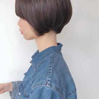 小顔ショート ショート ハンサムショート ショートボブ ヘアスタイルや髪型の写真・画像
