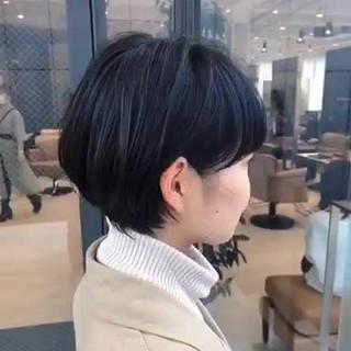 ショートヘア イメチェン ショート ショートボブ ヘアスタイルや髪型の写真・画像