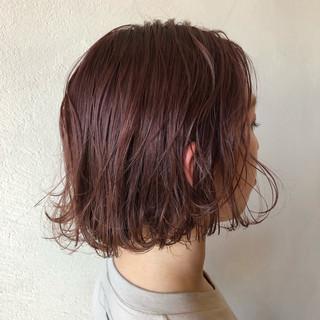 ラベンダーピンク ピンクバイオレット ピンクベージュ ピンクアッシュ ヘアスタイルや髪型の写真・画像