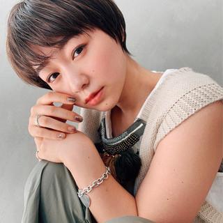 ガーリー 阿藤俊也 PEEK-A-BOO ショート ヘアスタイルや髪型の写真・画像