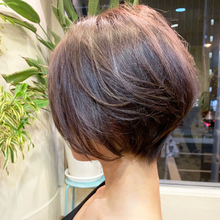 くびれボブ ボブ モテ髪 フェミニン ヘアスタイルや髪型の写真・画像