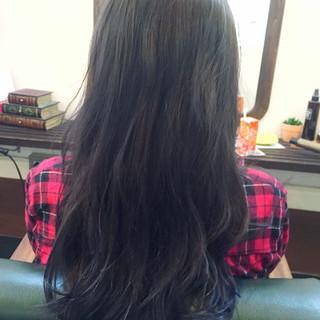 ストリート ネイビーアッシュ グレー ブルー ヘアスタイルや髪型の写真・画像 ヘアスタイルや髪型の写真・画像