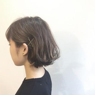 ナチュラル リラックス ボブ 夏 ヘアスタイルや髪型の写真・画像